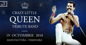Cronică de concert: Crazy Little Queen Tribute Band în Manufactura Timişoara