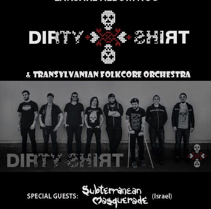 Dirty Shirt lansează noul album la Cluj, într-un concert special