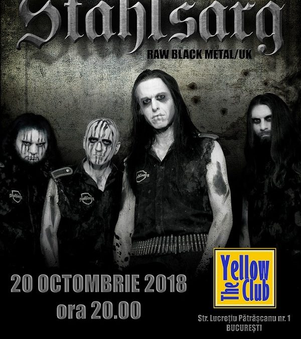 Stahlsarg: black metal britanic pe scena Yellow Club
