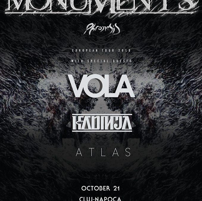 Cronică de concert: Monuments, Vola, Kadinja şi Atlas în /FORM Space Cluj-Napoca