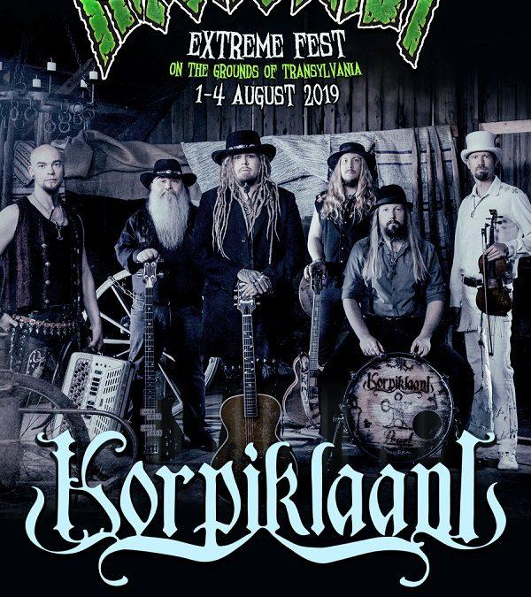 Korpiklaani vine la Rockstadt Extreme Fest 2019