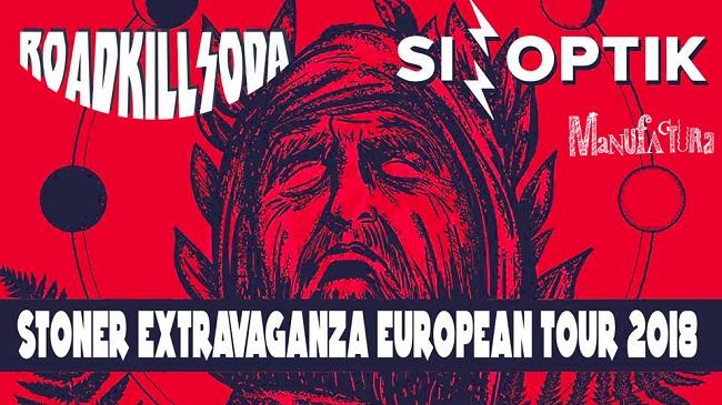 Concert Roadkill Soda și Sinoptik la Timișoara în cadrul Turneului European Stoner Extravaganza 2018