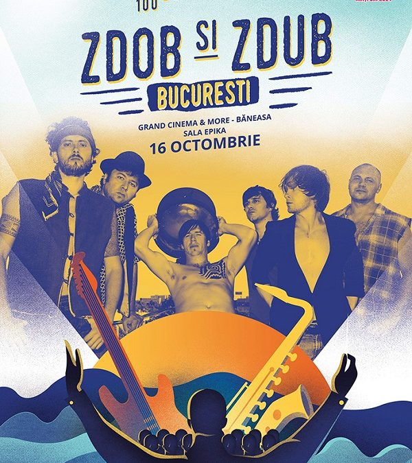 Zdob și Zdub cântă toamna aceasta acompaniați de o orchestră simfonică la București, Iași și Cluj