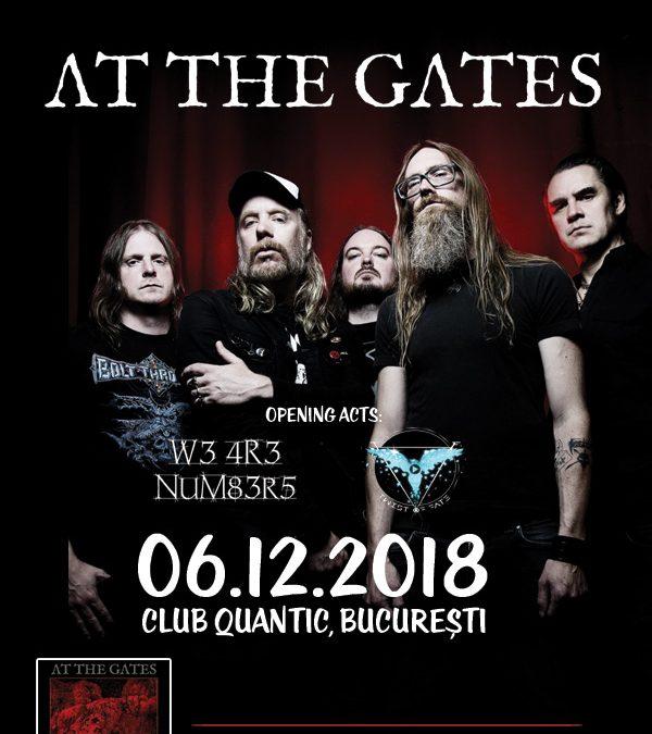 Ultimele bilete la preț promoțional la concertul At The Gates