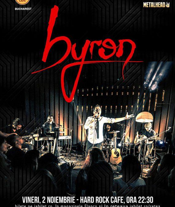 ConcertByron la Hard Rock Cafe