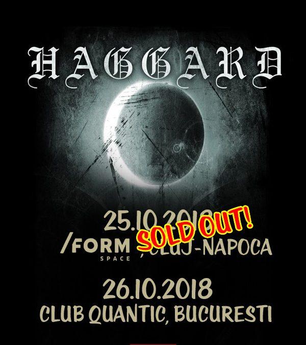 Haggard anunță trupele care vor cânta în deschiderea concertelor din Cluj și București