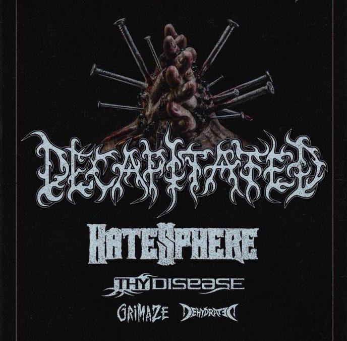 Cronică de concert: Decapitated, HateSphere, Thy Disease, Dehydrated și Grimaze în /Form Space Cluj-Napoca