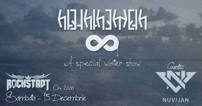 Concert HTETHTHEMETH și NUVIJAN – 15.12 – Club ROCKSTADT, Brașov