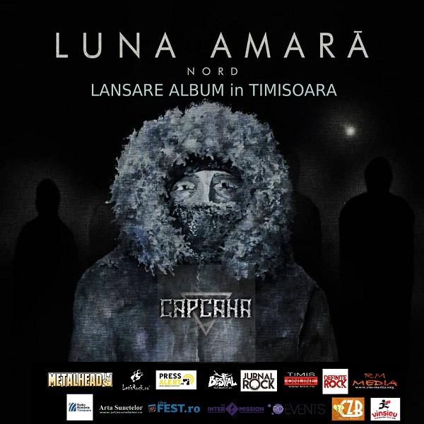 """Luna Amară lansează noul album """"NORD"""" la Timișoara"""