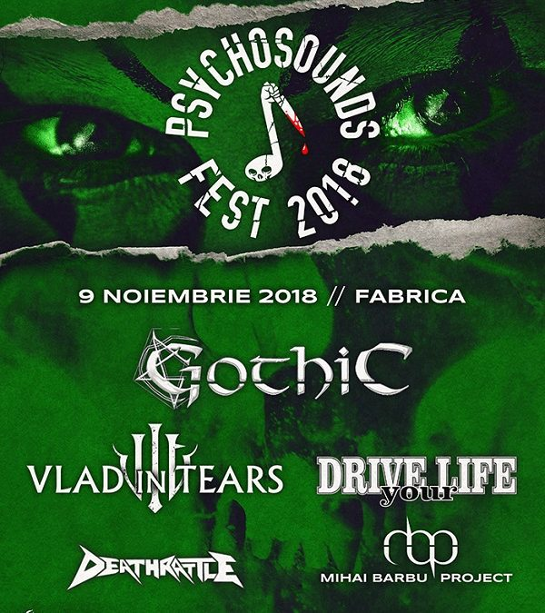 Programul Psychosounds Fest 2018