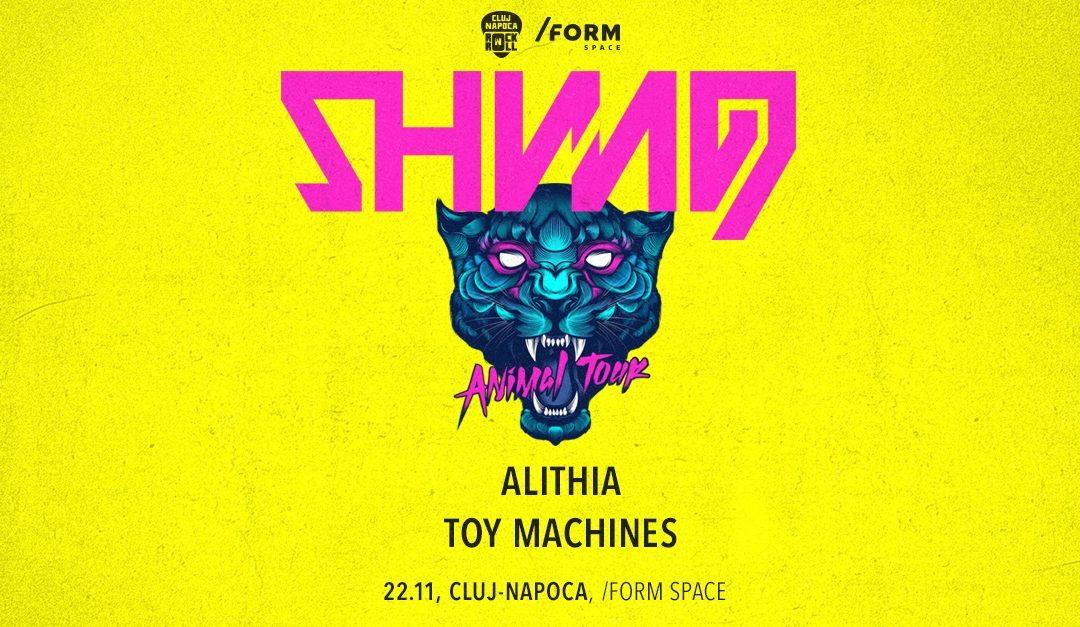 Cronică de concert: Shining (Norvegia), Alithia și Toy Machines în /Form Space Cluj-Napoca