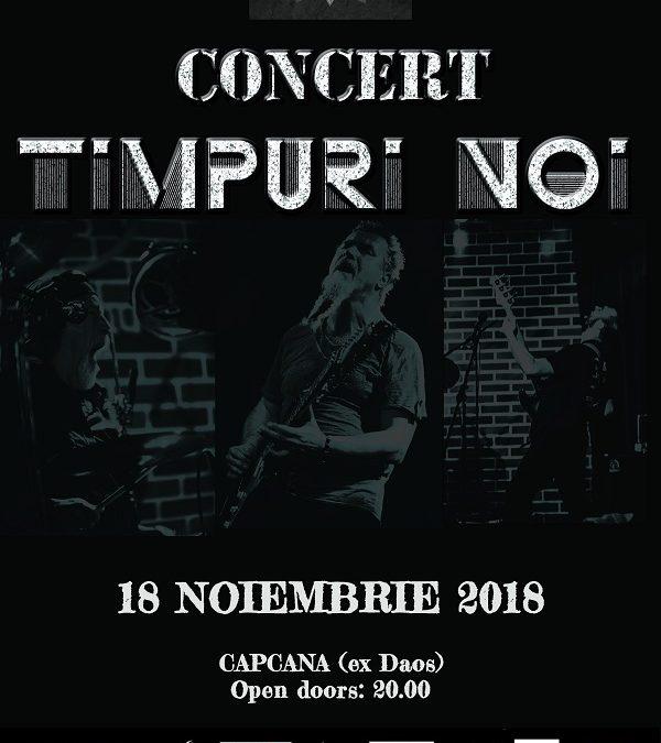 Concert Timpuri Noi la Timișoara