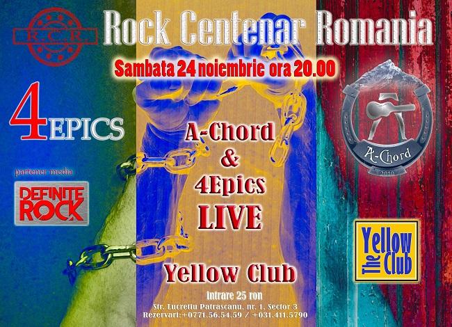 Centenar Rock, cu A-Chordși4epics