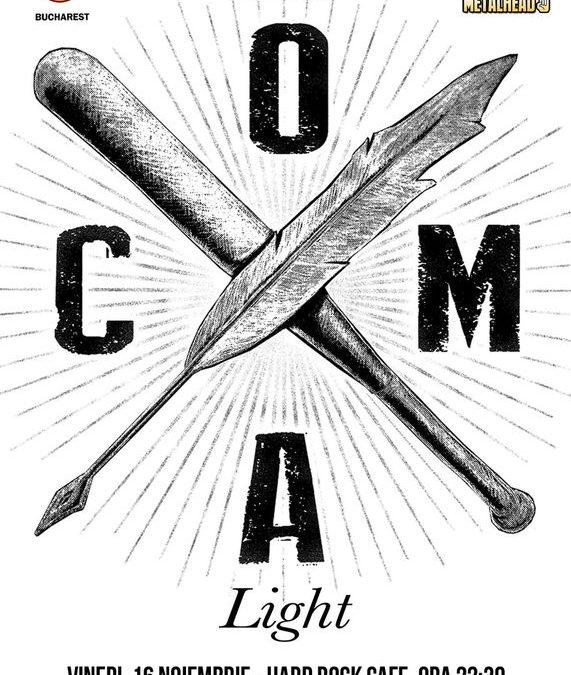 Concert Coma – Light/Acustic în Hard Rock Cafe