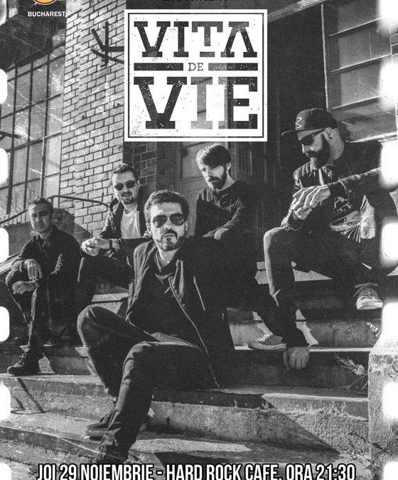 Concert Vița de Vie – electric la Hard Rock Cafe
