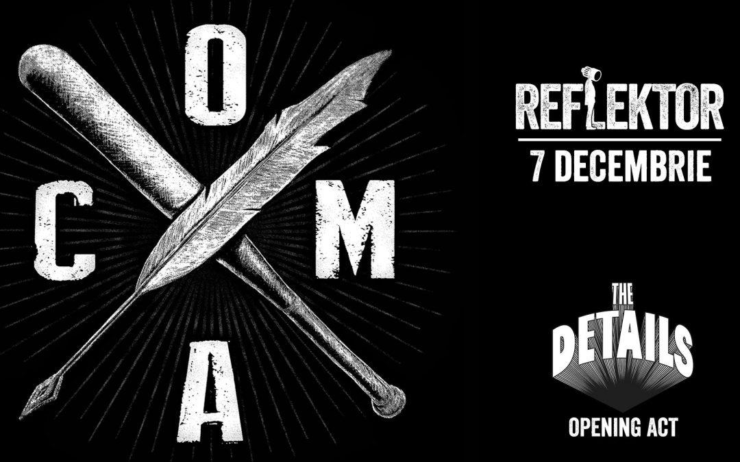 Cronică de concert: COMA în Reflektor Venue Timișoara