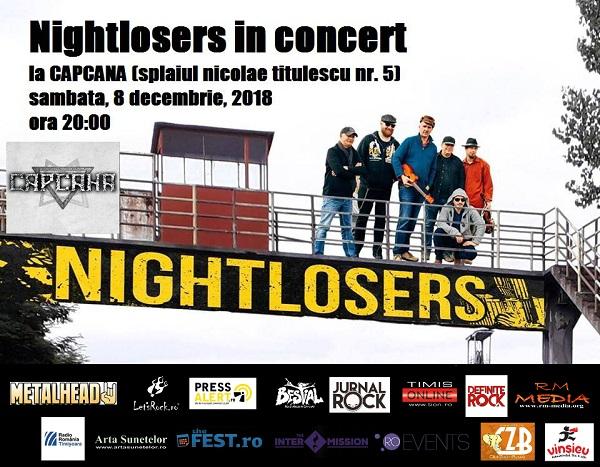 Blues ardelenesc cu Nightlosers, live în Timișoara