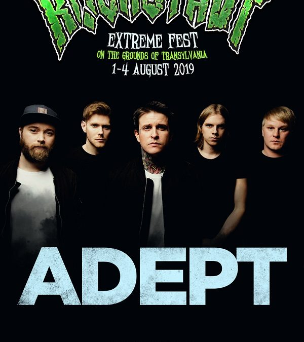 Metalcore suedez la Rockstadt Extreme Fest 2019: ADEPT pentru prima dată în România