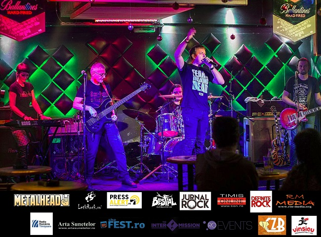 Cele mai tari hituri rock LIVE în Timișoara cu trupa Trouble Heart