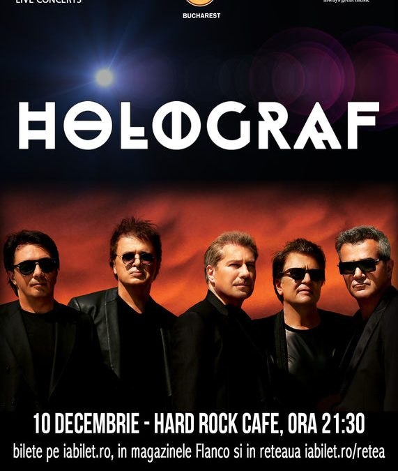 Holograf – special exclusive show – Hard Rock Cafe