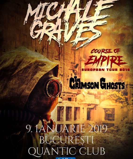 Concert Michale Graves (ex Misfits) în Club Quantic