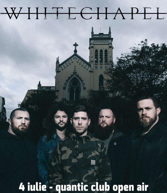 Whitechapel în premieră în România