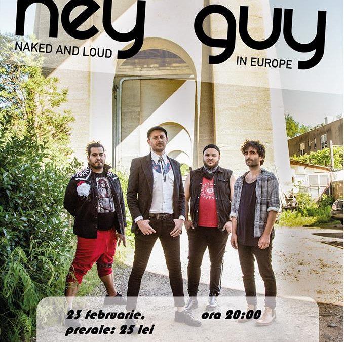Hey Guy – trupa chitaristului de la Gogol Bordello în concert LIVE la Timișoara