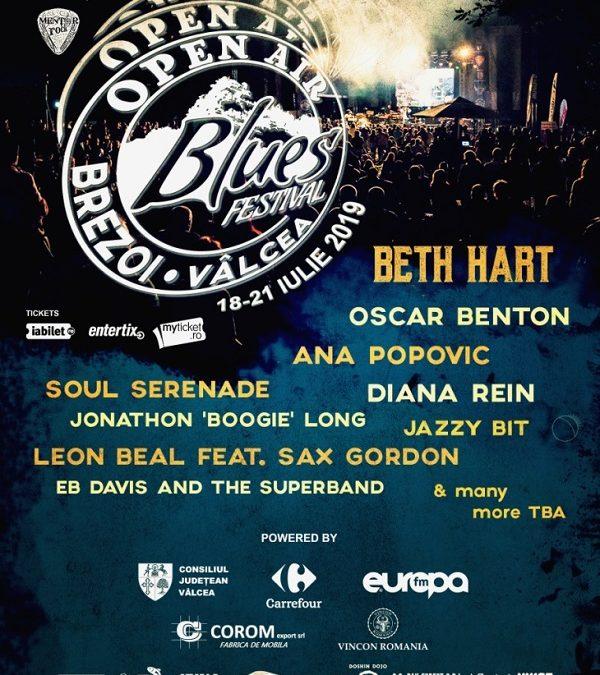 Beth Hart revine în România pe 18 iulie 2019, în cadrul Open Air Blues Festival Brezoi!