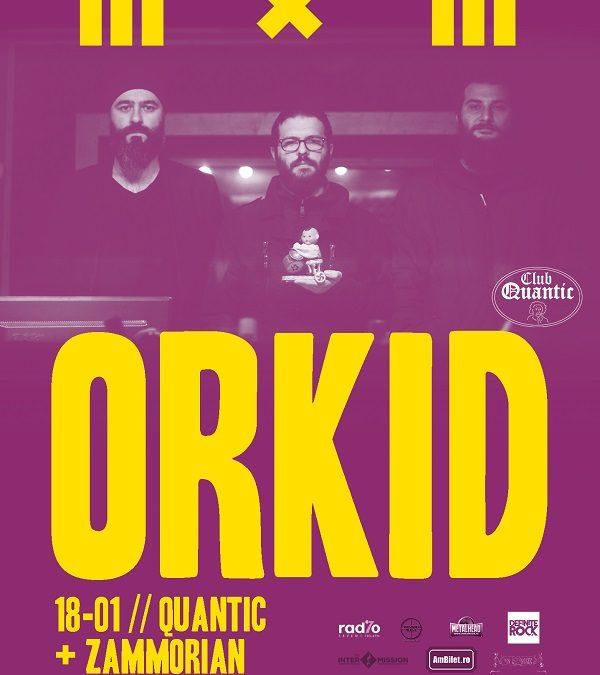 Concert Orkid + Zammorian + Coven Clash, în Quantic