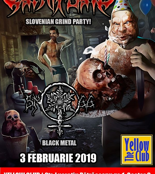 Concert Carnifliate și Snogg în Yellow Club pe 3 februarie