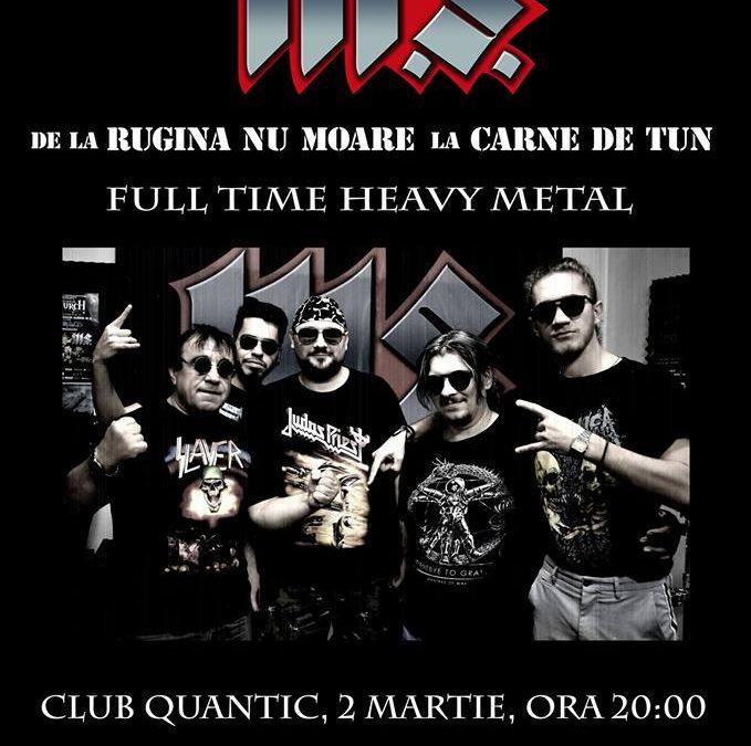 Concert M.S. în Quantic, pe 2 martie