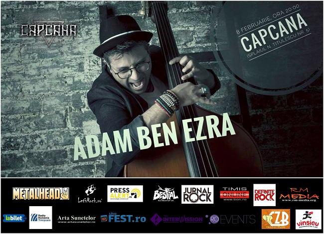 Concert extraordinar Adam Ben Ezra la Timișoara