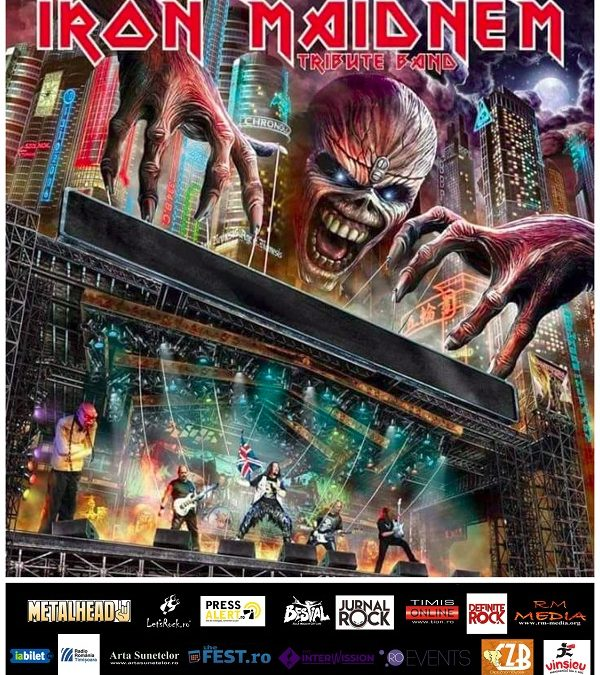 Concert tribut Iron Maiden LIVE în Timișoara
