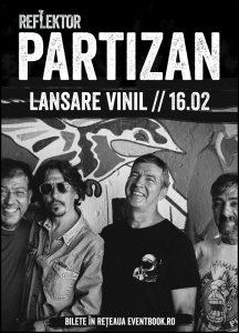 Cronică de concert: PARTIZAN în Reflektor Venue Timișoara