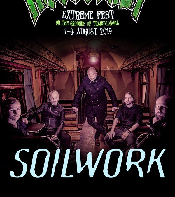 SOILWORK la Rockstadt Extreme Fest 2019