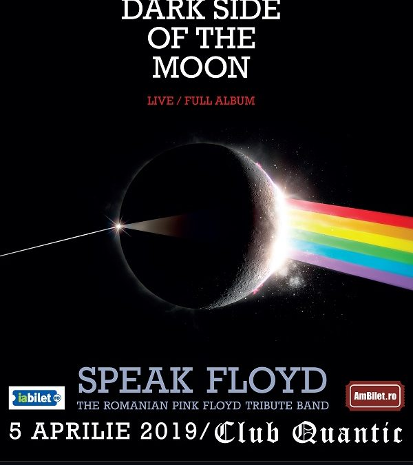 "Concert Speak Floyd – ""The Dark Side of the Moon"", în premieră la Quantic"