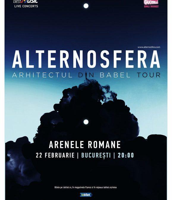 Alternosfera: numele noului album și concert aniversar de 20 de ani de la înființarea trupei