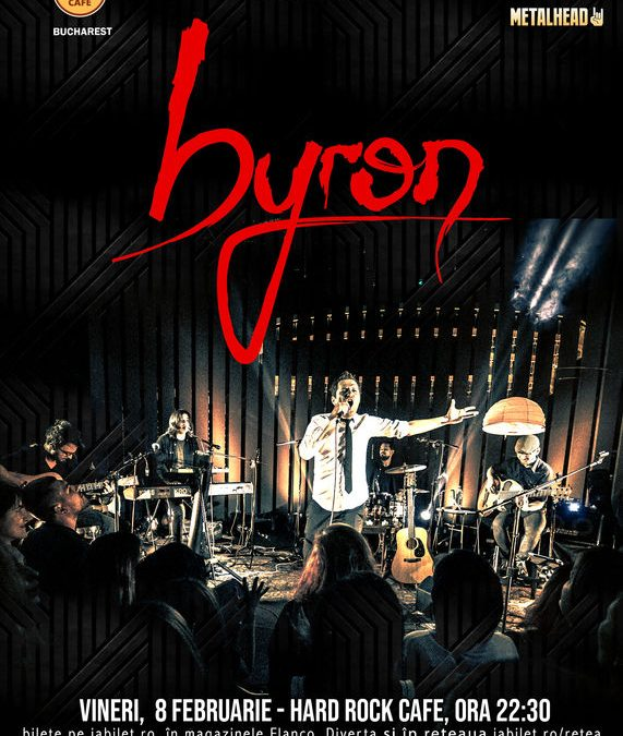 Concert byron in Hard Rock Cafe