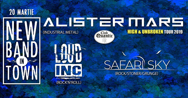Safari Sky, Loud Inc. și Alister Mars în Quantic
