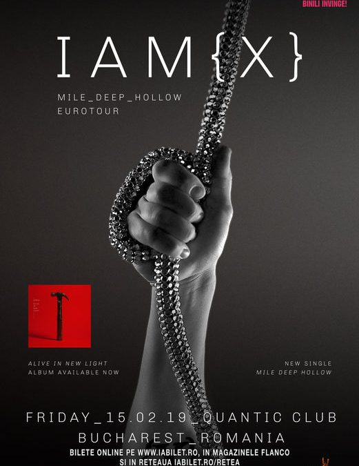 "IAMX – ""Mile Deep Hollow"" în Club Quantic"