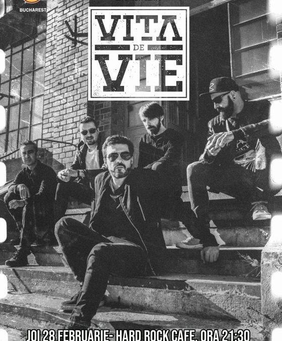Concert Vița de Vie în Hard Rock Cafe