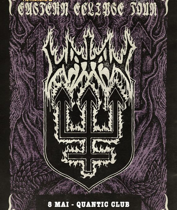 "Watain – ""Eastern Eclipse"" în Club Quantic"