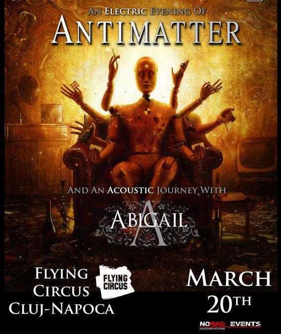 Cronică de concert: Antimatter și Abigail în Flying Circus Cluj-Napoca