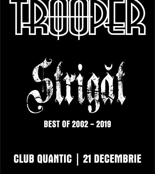 "Trooper lansează ""Strigăt: Best of 2002 – 2019"""