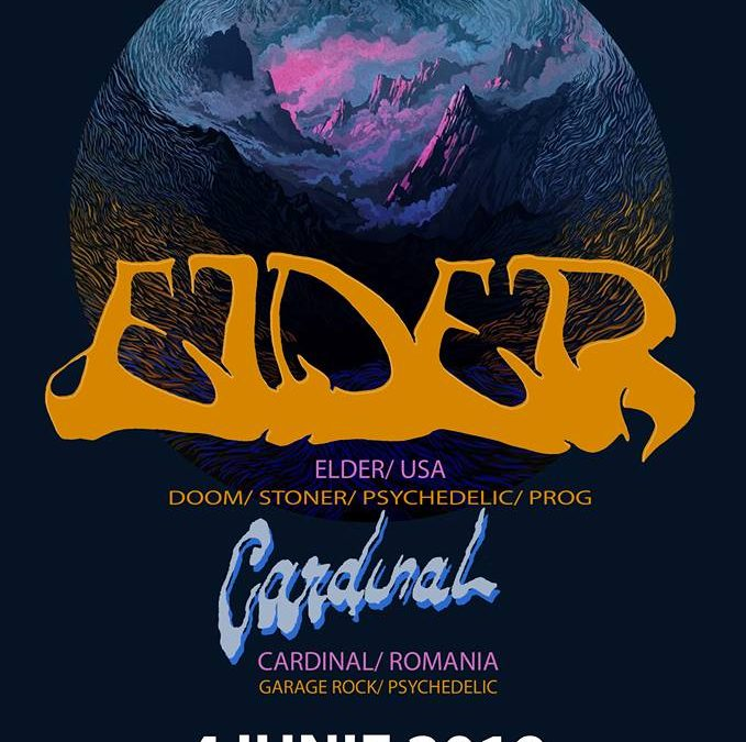 Cardinal vor cânta alături de Elder pe 4 iunie în Quantic Club