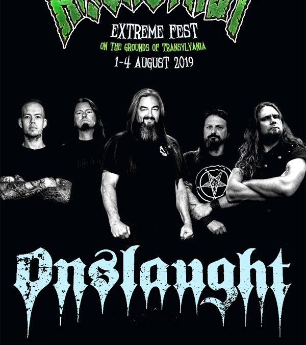 Trash metal britanic la Rockstadt Extreme Fest 2019