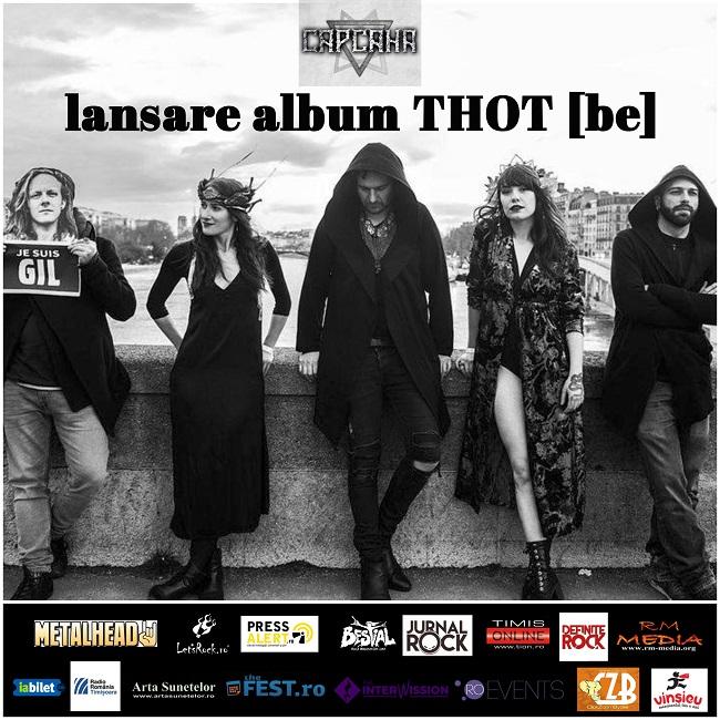 Trupa Thot din Belgia aduce rockul industrial în concert LIVE la Timișoara