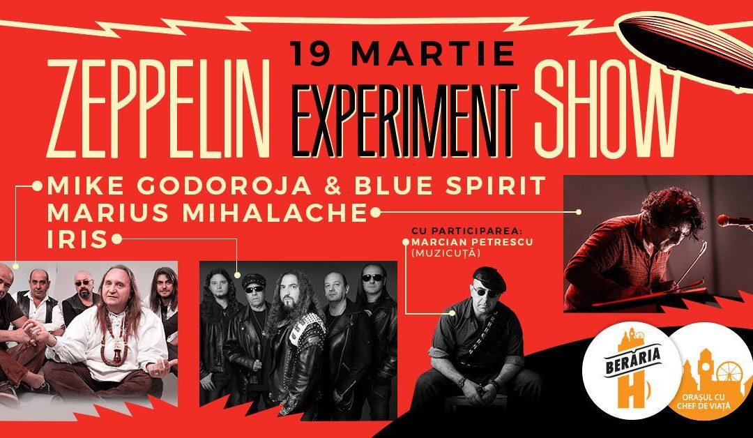 IRIS vor cânta pe 19 martie în cadrul evenimentului ZEPPELIN EXPERIMENT SHOW