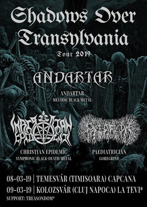8 martie extrem – Concert black metal LIVE în Timișoara