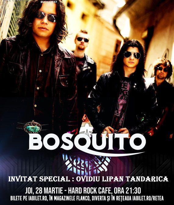 Concert Bosquito și Ovidiu Lipan Țăndărică în Hard Rock Cafe